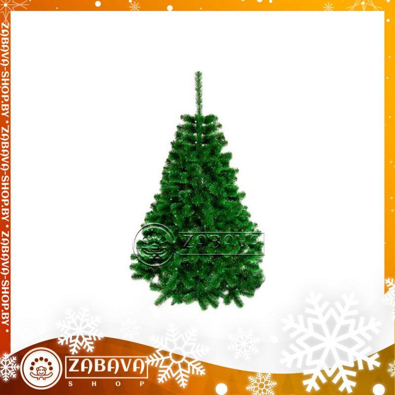 Ель (елка) искусственная классическая с зелёными концами 1,2 метра