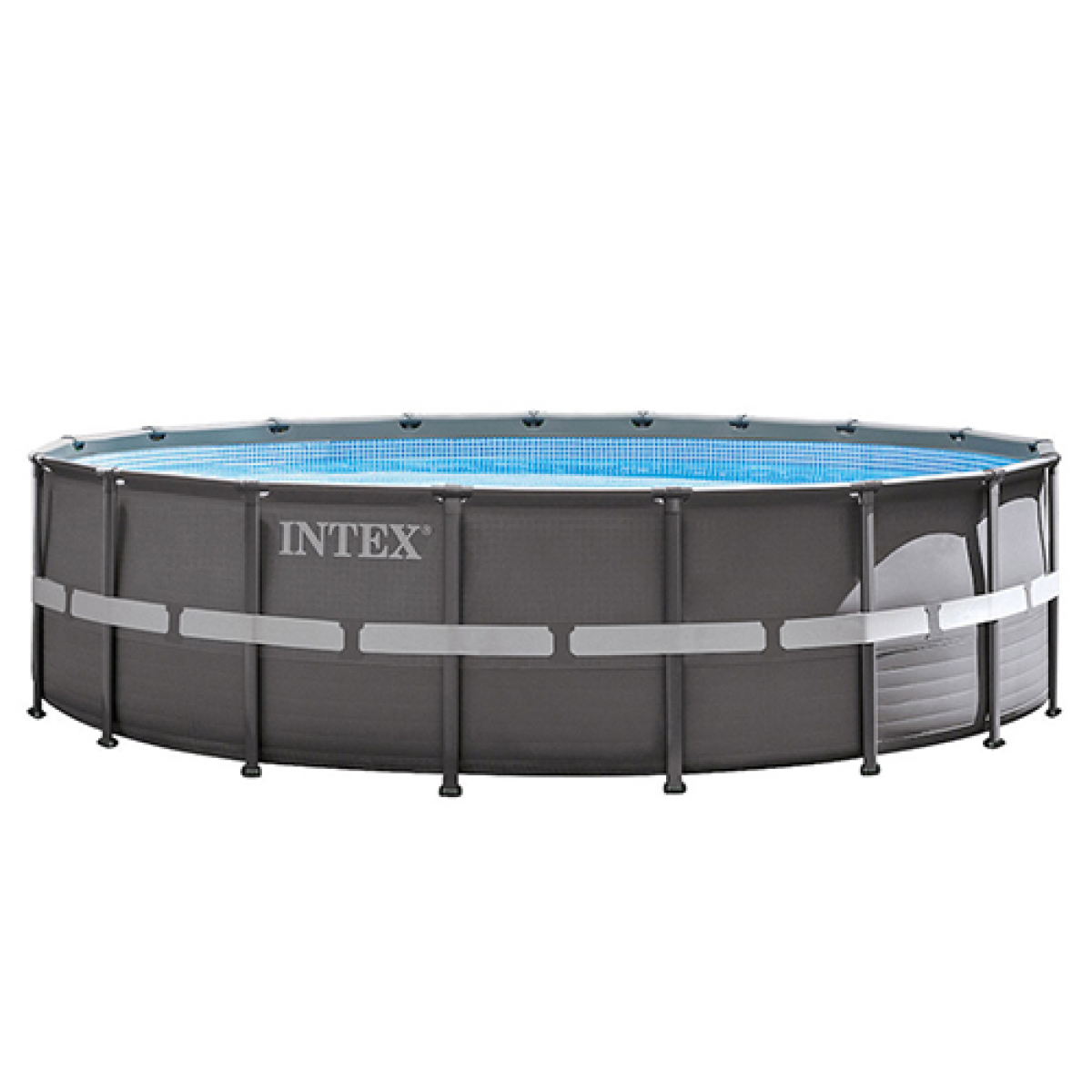 Бассейн круглый каркасный Intex