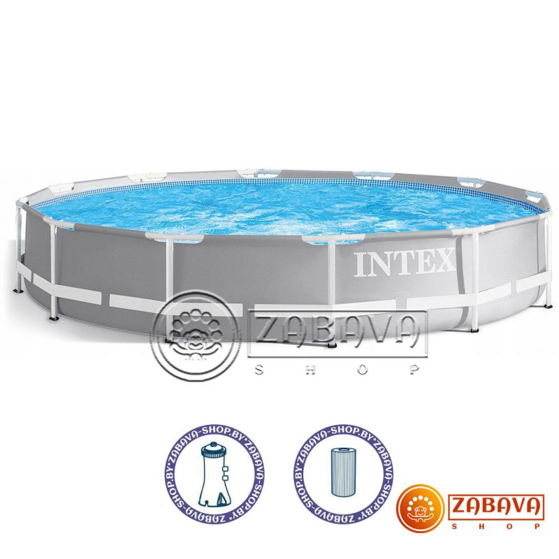 Бассейн каркасный Intex 26712 Prism Frame 366x76 см