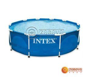 Бассейн каркасный Intex 28210 (56994) Metal Frame 366x76 см