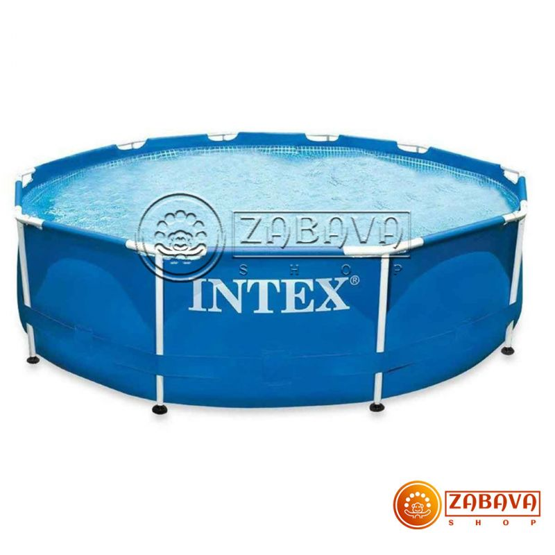 Бассейн каркасный Intex 28200 (56997) Metal Frame 305x76 см