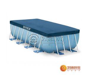Тент для прямоугольных каркасных бассейнов 400x200 см Intex 28037