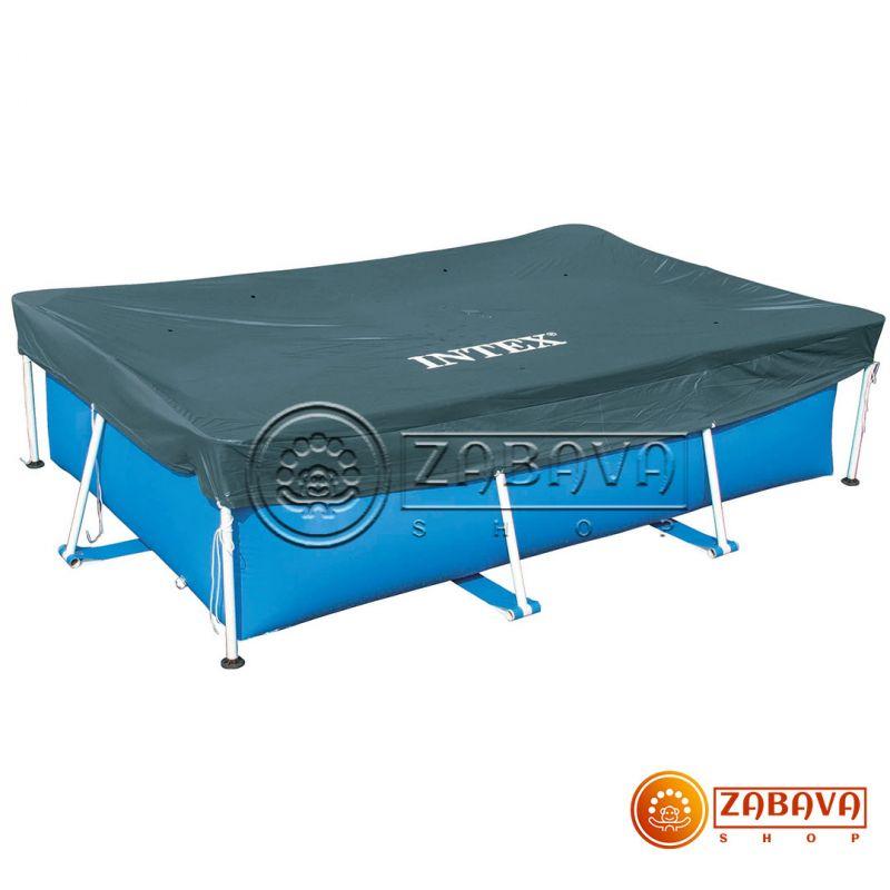 Тент для прямоугольных каркасных бассейнов 300x200 см Intex 28038