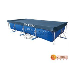 Тент для прямоугольных каркасных бассейнов 450x250 см Intex 28039