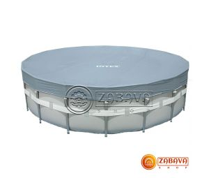 Тент для каркасных бассейнов 549 см Intex 28041