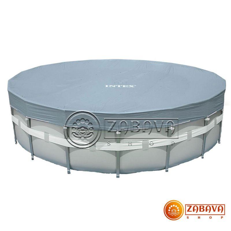 Тент для каркасных бассейнов 488 см Intex 28040