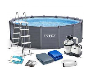 Каркасный бассейн Intex 26384NP 478x124см