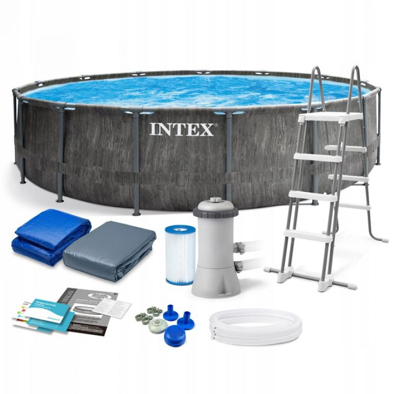 Каркасный бассейн Intex 26742NP 457x122см