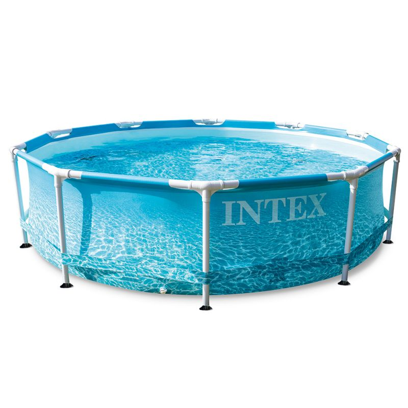 Бассейн каркасный Intex 28206NP Metal Frame BeachSide 305x76 см