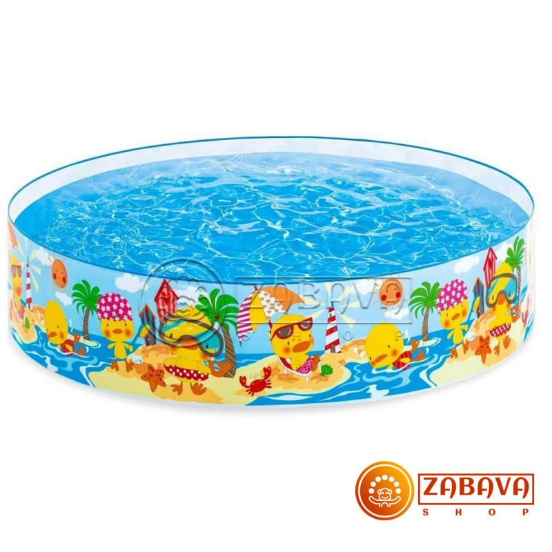 Детский бассейн Intex 58477 Утёнок 122х25 см