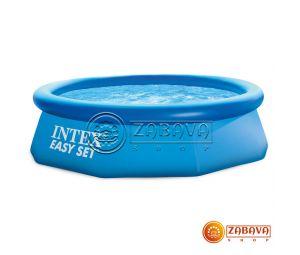 Надувной бассейн Intex 28110 (56970) Easy Set 244x76 см