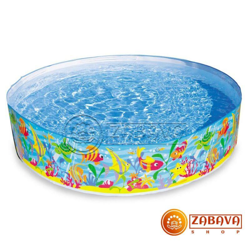 Детский бассейн Intex 56452 Подводные игры 183х38 см