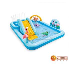 Детский игровой центр-бассейн Intex Приключения в джунглях 57161NP