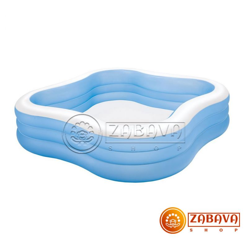 Надувной бассейн Intex 57495 Семейный 229х229х56см
