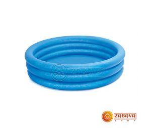 Детский надувной бассейн Intex 58446 Кристалл 168х38 см