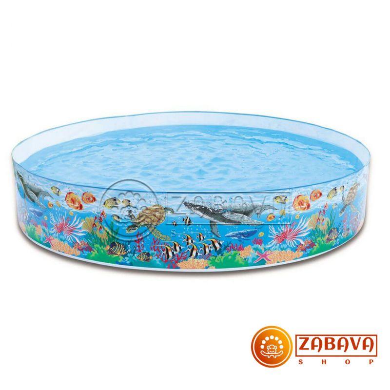 Детский бассейн Intex 58472 Коралловый риф 244x46 см