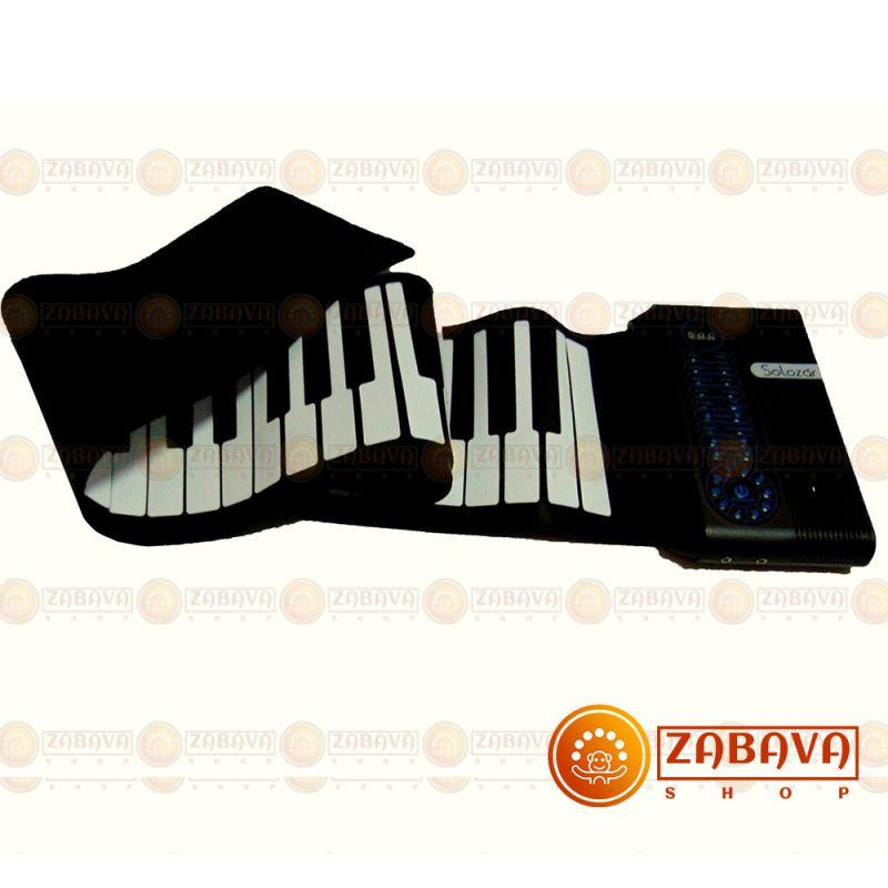 Гибкое пианино Solozar 61 клавиша