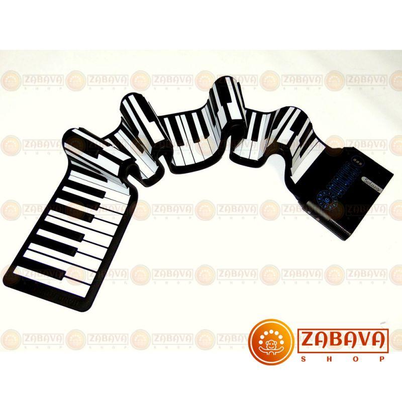Гибкое пианино Solozar 88 клавиш