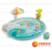 Детский надувной игровой центр Intex 57129 Крокодил 203 х 173 х 89 см