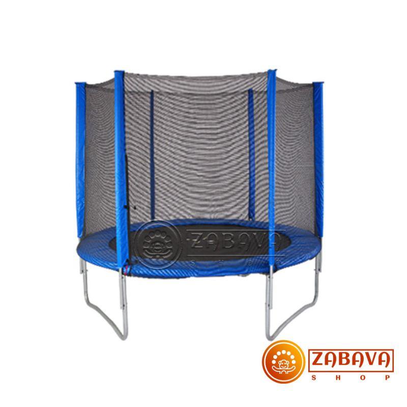 Батут Bebon Sports 374 см - 12ft с внешней сеткой и лестницей