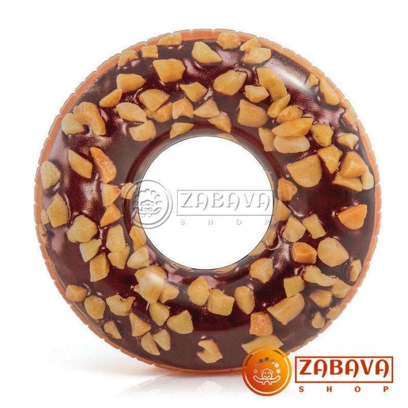 """Надувной круг Intex 56262 """"Пончик"""", 114 см"""