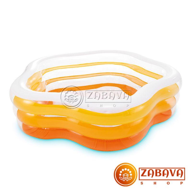 Детский надувной бассейн Intex 56495 Цвета лета 185х180x53 см
