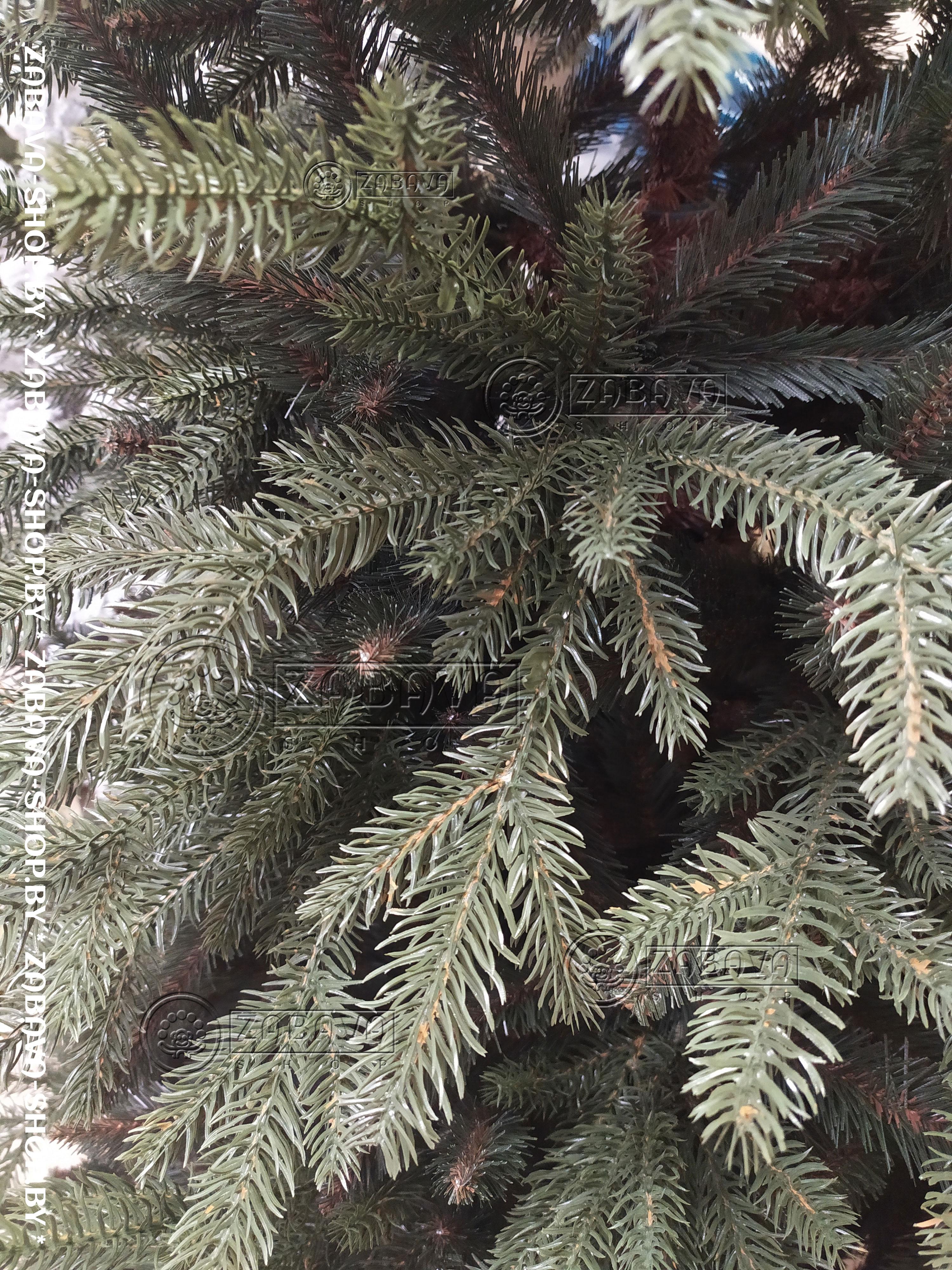 Ветви искусственной ёлки Аляска Тёмная 2,5 метра