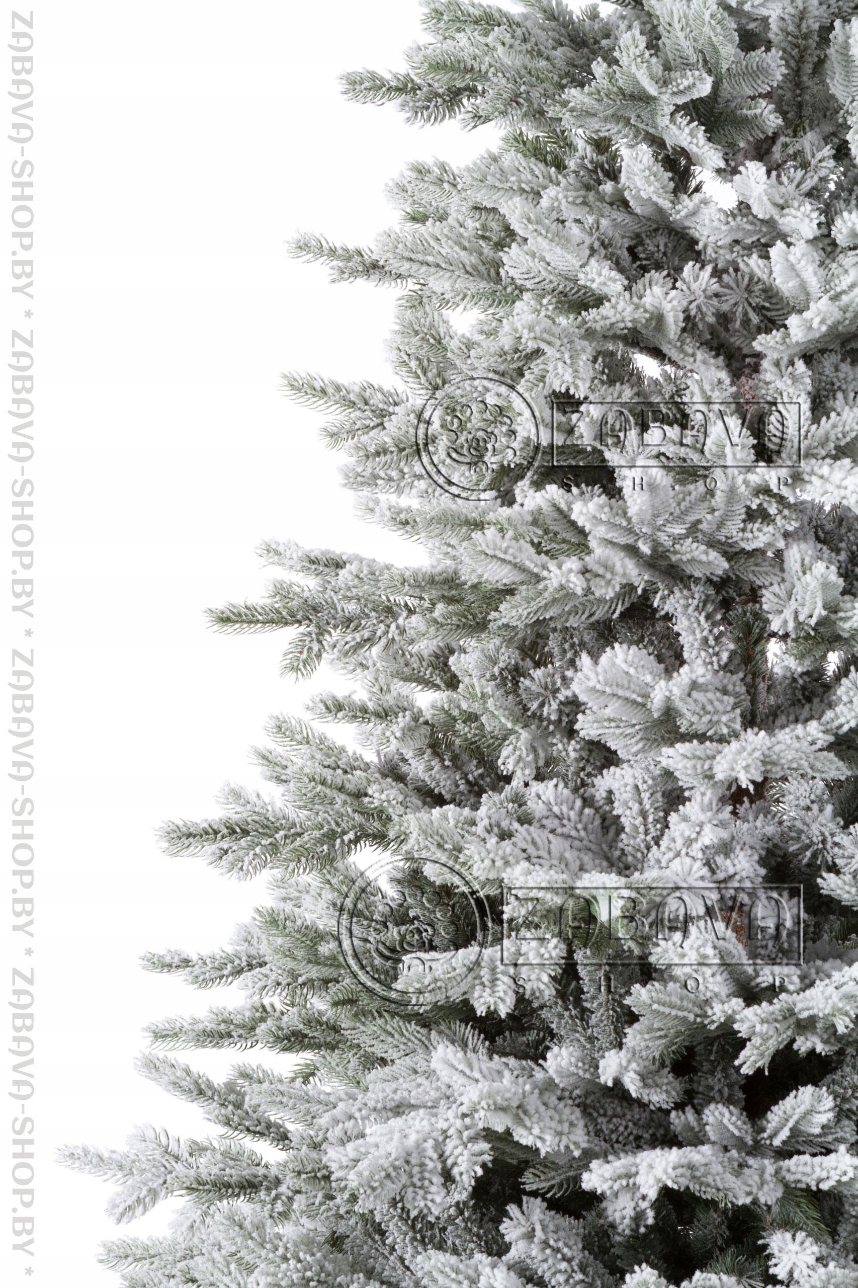 Ветви искусственной ели Аляска Заснеженная 1,8 метра