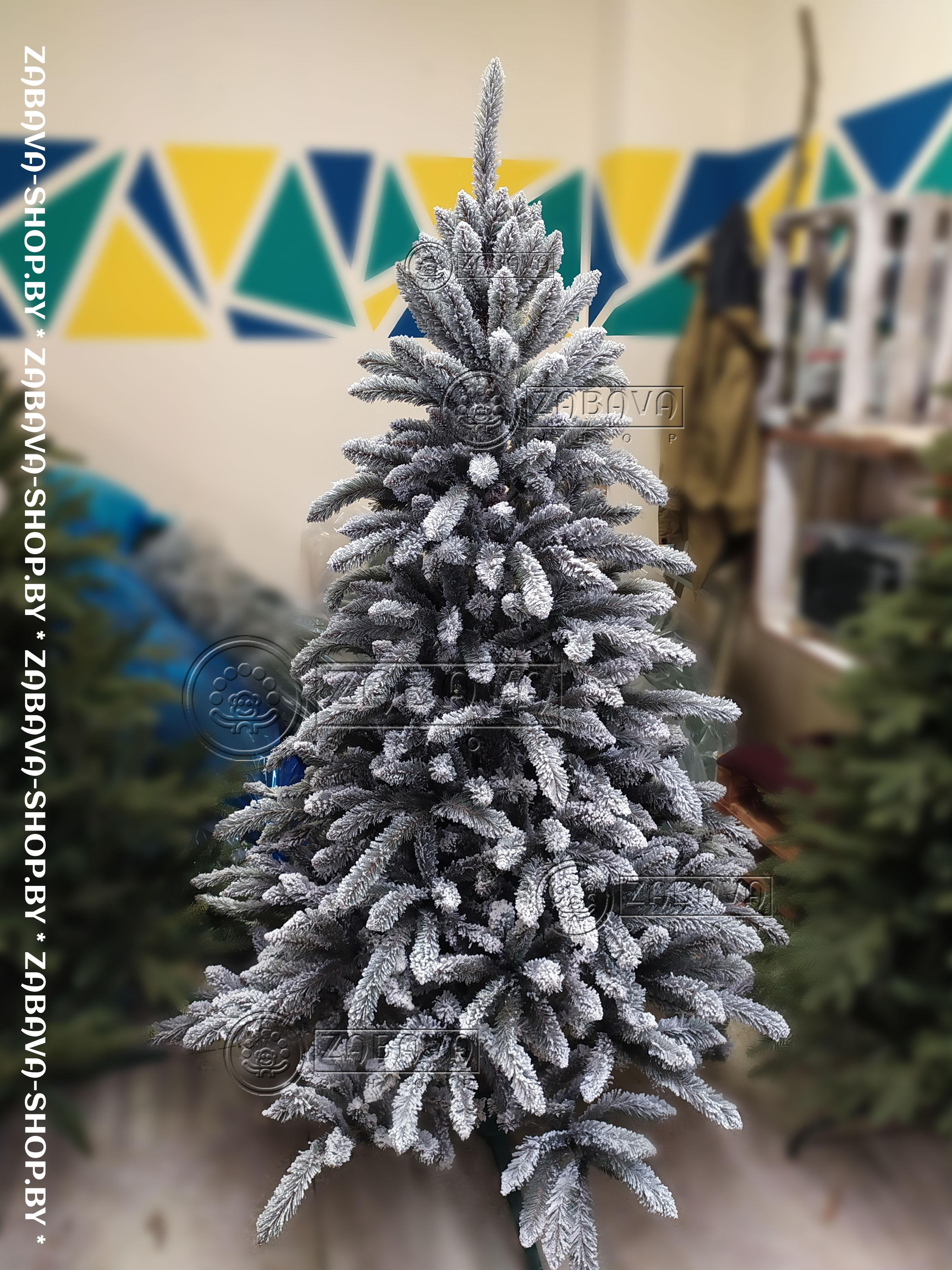 Ветви искусственной ёлки Бовари Заснеженная 2,2 метра