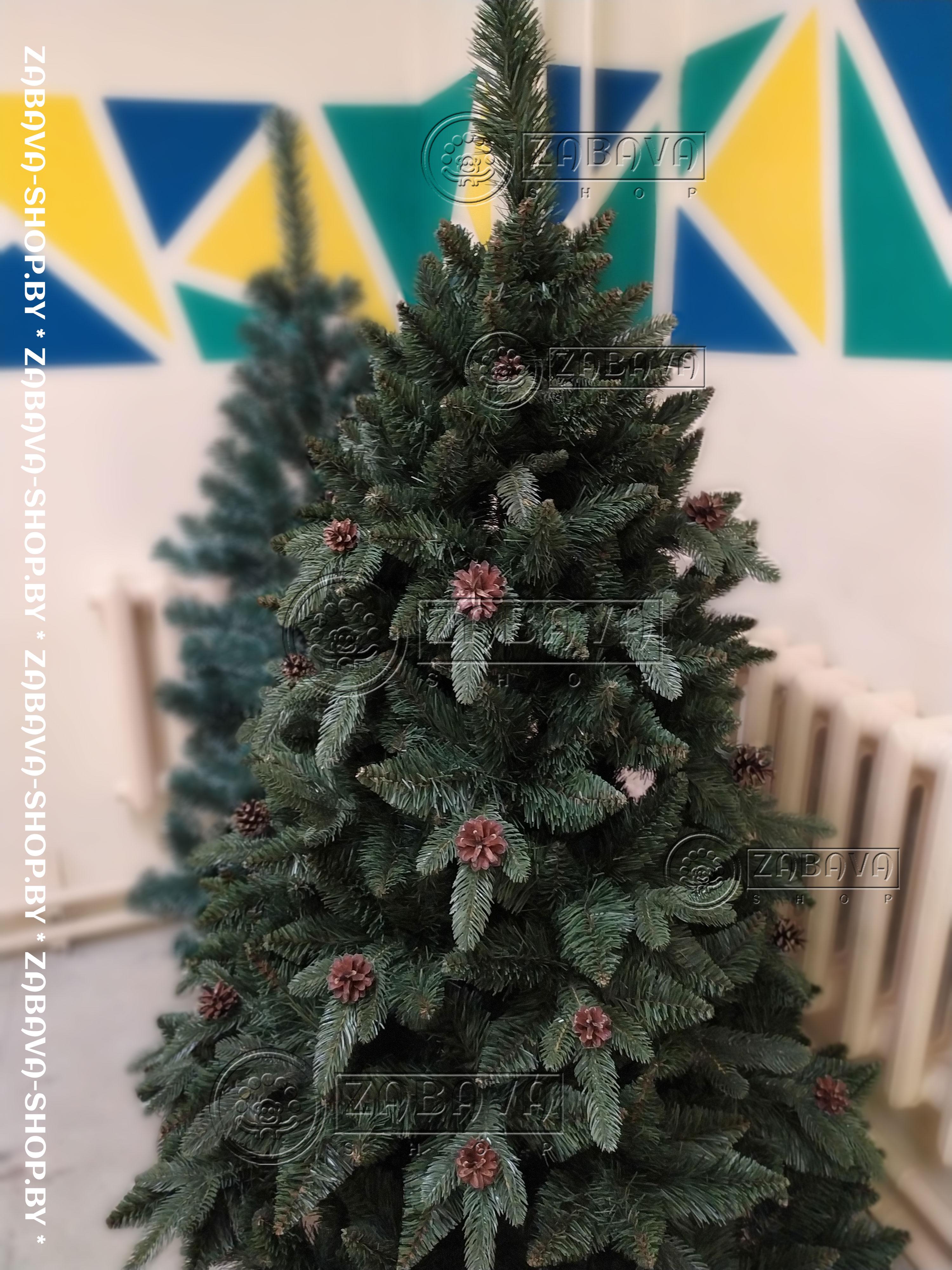 Сосна искусственная Рапсодия Натуральная 2,5 метра - zabava-shop.by