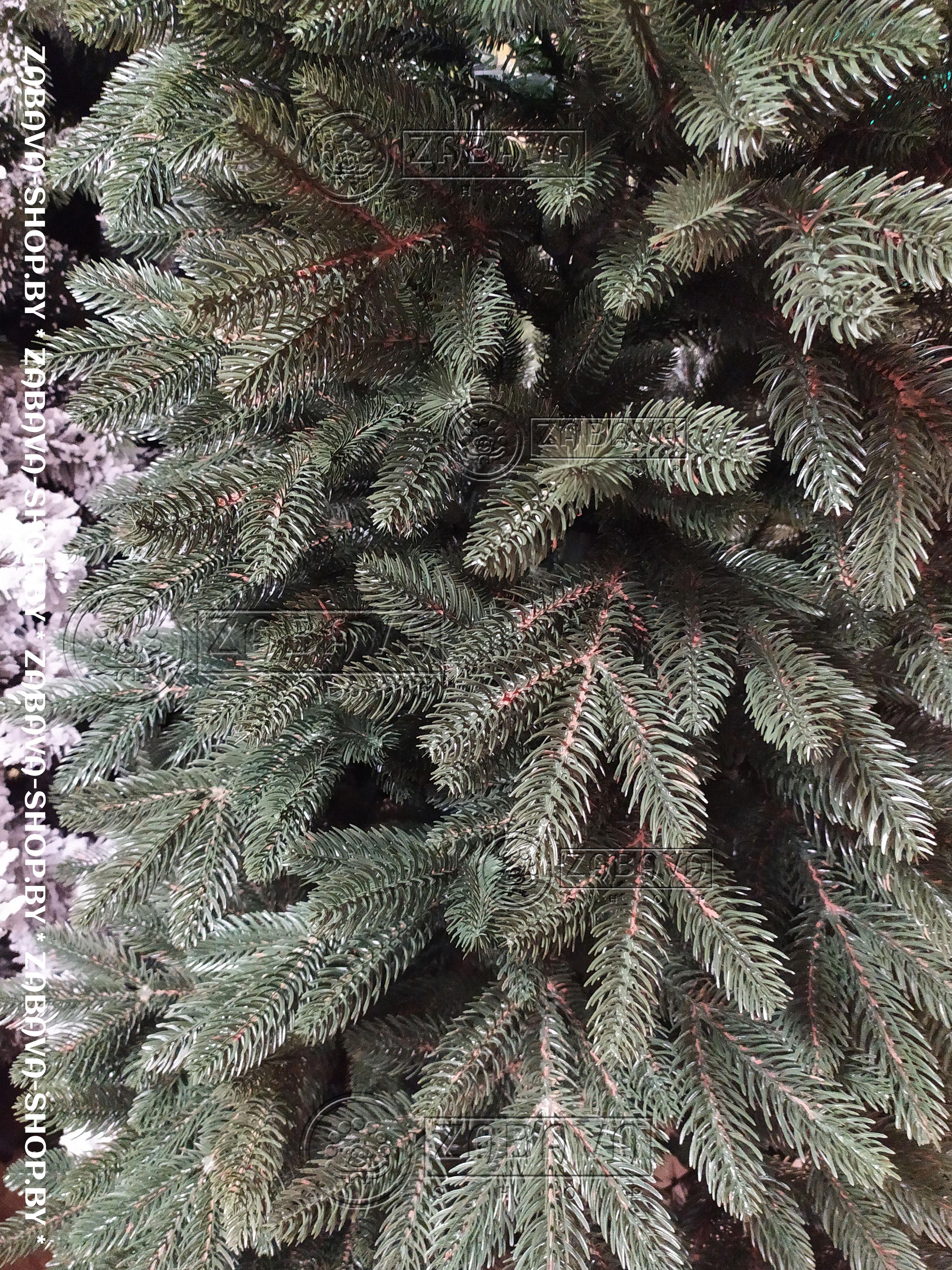 Ель (ёлка) искусственная Премиум зелёная 120 см - ветви