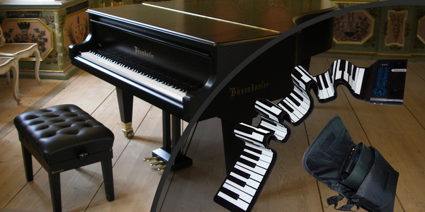 Гибкое пианино Solozar 61 клавиша купить в интернет - магазине zabava-shop.by